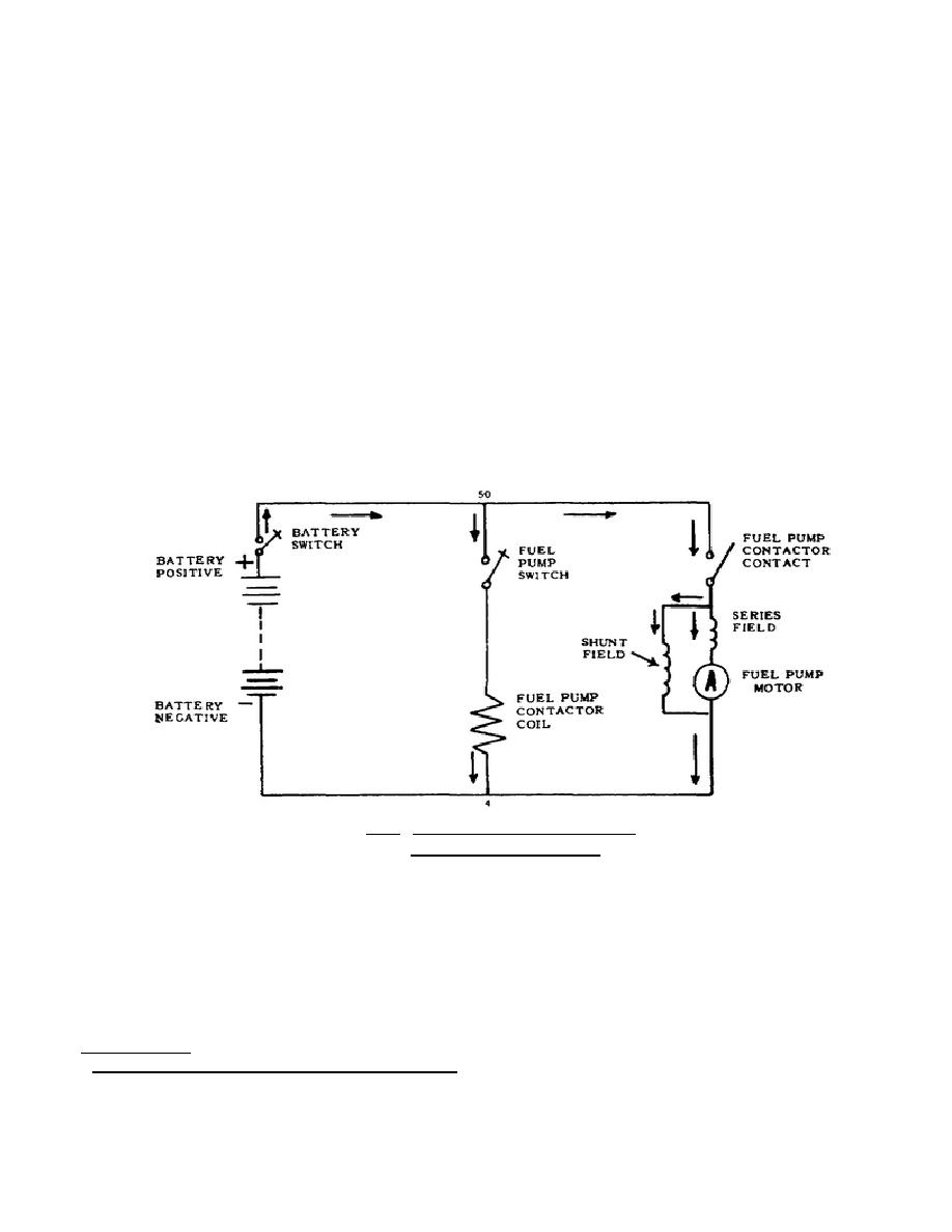 schematic wiring diagram fuel pump motor circuit  * - tr065640049